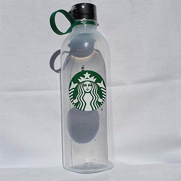 Starbucks Siren Reusable Clear Water Bottle